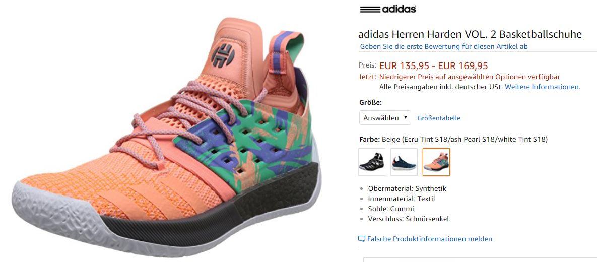 James Harden VOL 2 Schuhe von Adidas