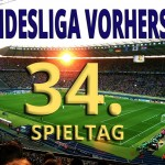 Bundesliga Vorhersage und Tipphilfe für den 34. Spieltag der Saison 2017/2018