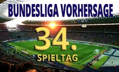 Bundesliga Vorhersage 34. Spieltag