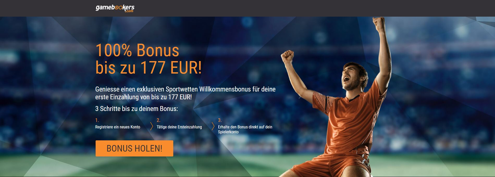 Gamebookers Sportwetten Bonus