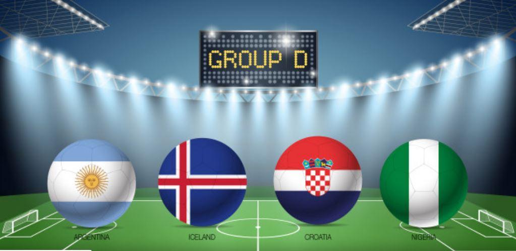 WM2018 Gruppe D