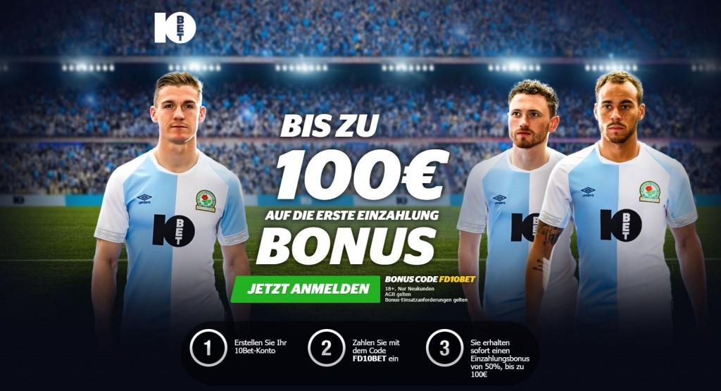 10Bet Sportwetten Bonus