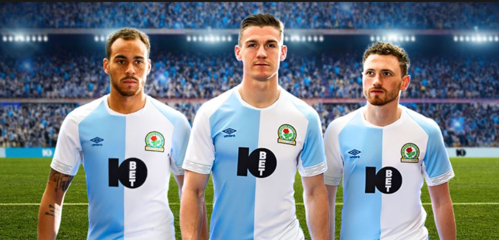 10Bet Sponsor Blackburn Rovers