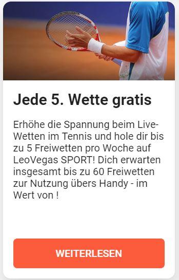 Leovegas Sport Bonus Erfahrungen