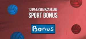 VBET Sportwetten Bonus 100% bis 100 Euro