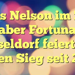 Fortuna Düsseldorf feiert gegen Hoffenheim den ersten Sieg seit 2013