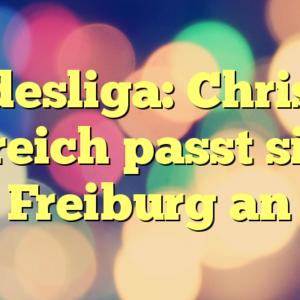 Bundesliga: Christian Streich passt sich Freiburg an