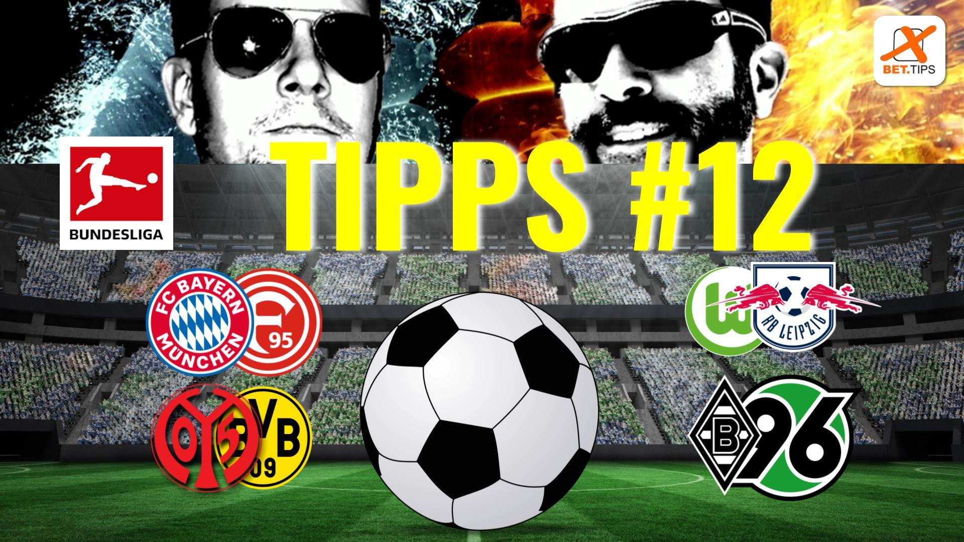 BUNDESLIGA VORHERSAGE #12 – Tipps und Prognosen zum 12. Spieltag