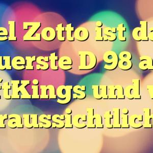 Del Zotto ist das teuerste D 98 auf DraftKings und wird voraussichtlich …