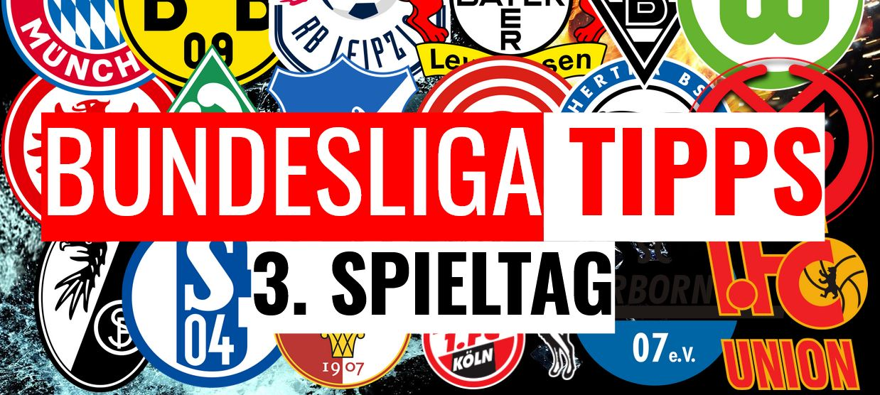 Bundesliga Prognose zum 3. Spieltag 2019/2020