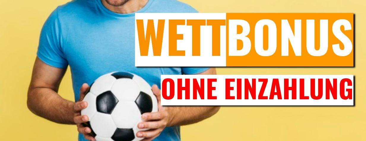 Wett-Bonus ohne Einzahlung bei deutschen Wettanbietern