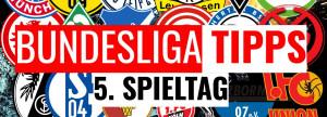 Bundesliga Tipps 5. Spieltag 2019/2020