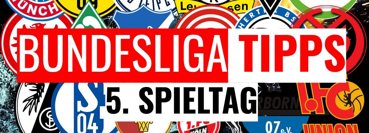 Die ultimative Bundesliga Vorhersage zum 5. Spieltag 2019/2020