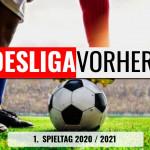 Bundesliga Vorhersage - Tipps zum 1. Spieltag 2020 / 2021