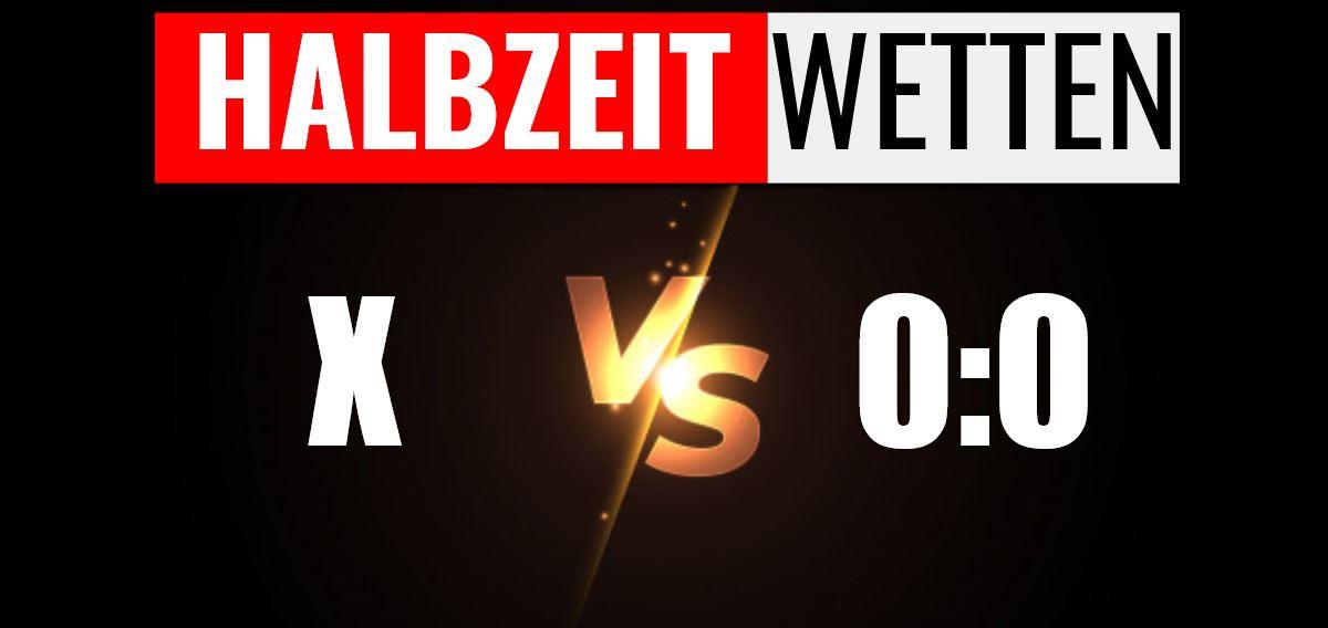 Halbzeit-Wetten X