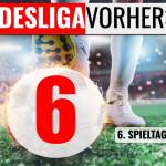 Bundesliga Vorhersage - Tipps zum 6. Spieltag 2020 / 2021
