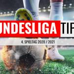 Bundesliga Vorhersage - Tipps zum 4. Spieltag 2020/2021