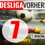 BUNDESLIGA VORHERSAGE - Tipps zum 7. Spieltag 2020 / 2021