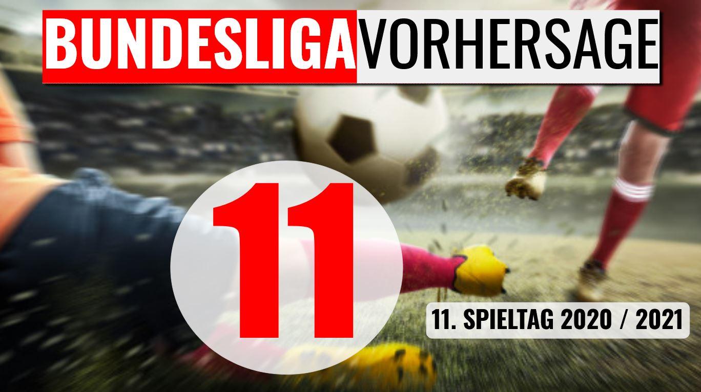 Bundesliga Vorhersage Tipps 11.Spieltag