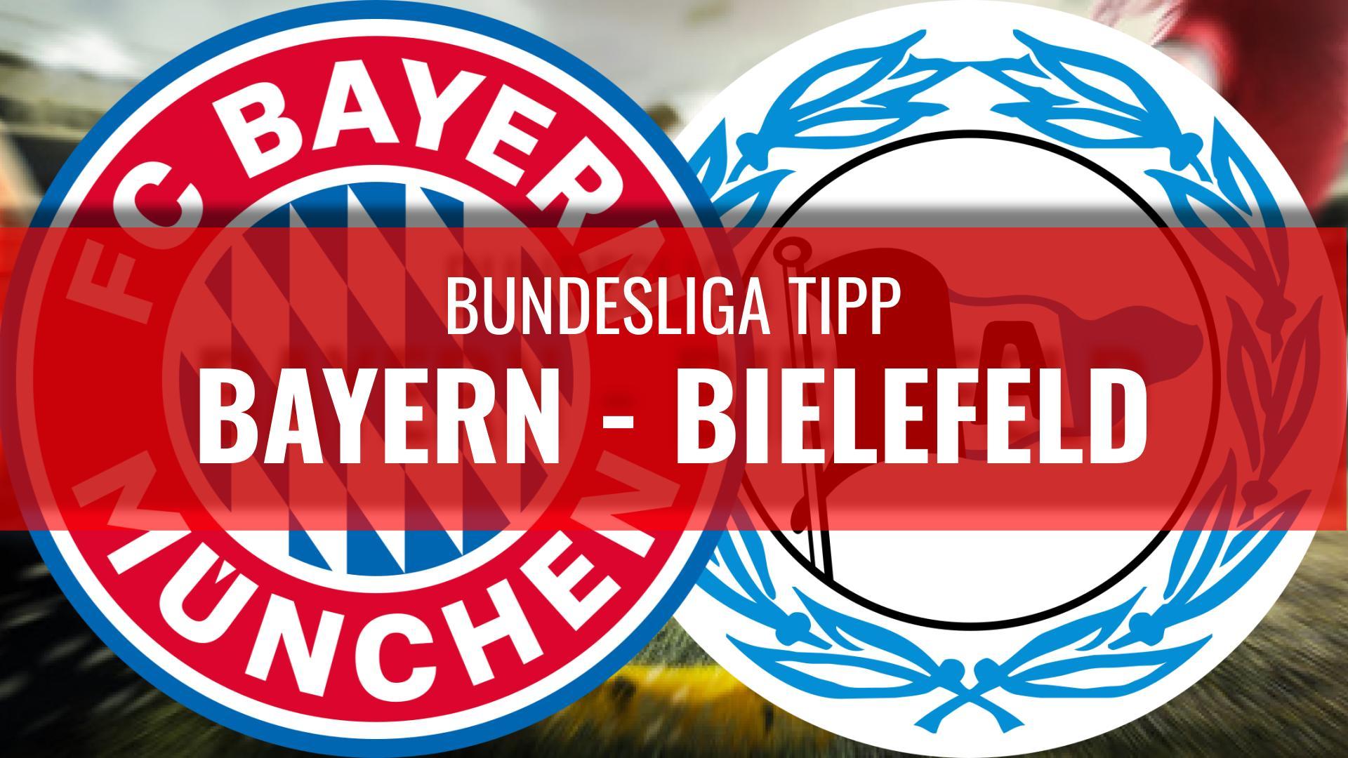BAYERN - BIELEFELD-Bundesliga-Wetten