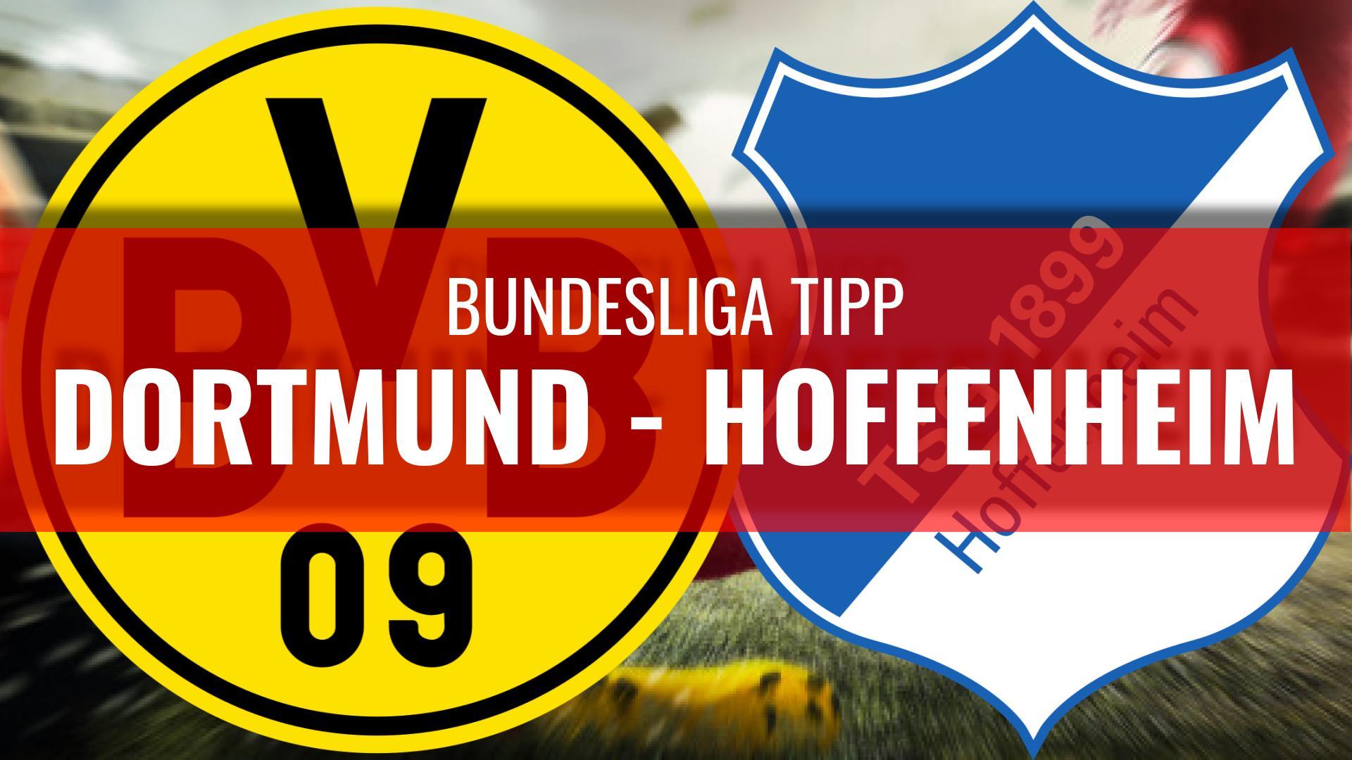 DORTMUND - HOFFENHEIM-Bundesliga-Wett-Tipps
