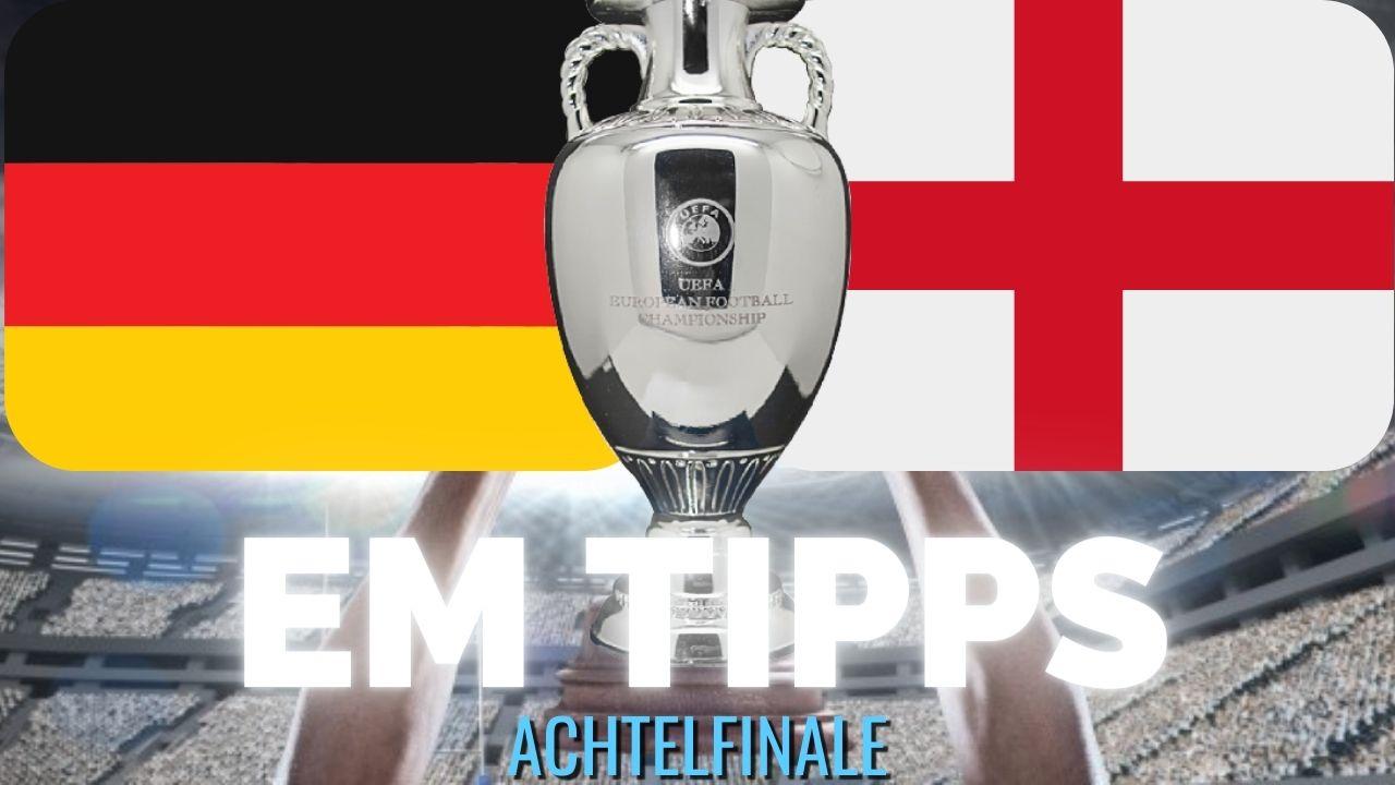 EM Wett-Tipps heute Deutschland - England