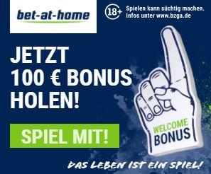 Bet at Home Sportwetten Bonus