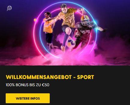 Bethard Sportwetten Bonus Angebot
