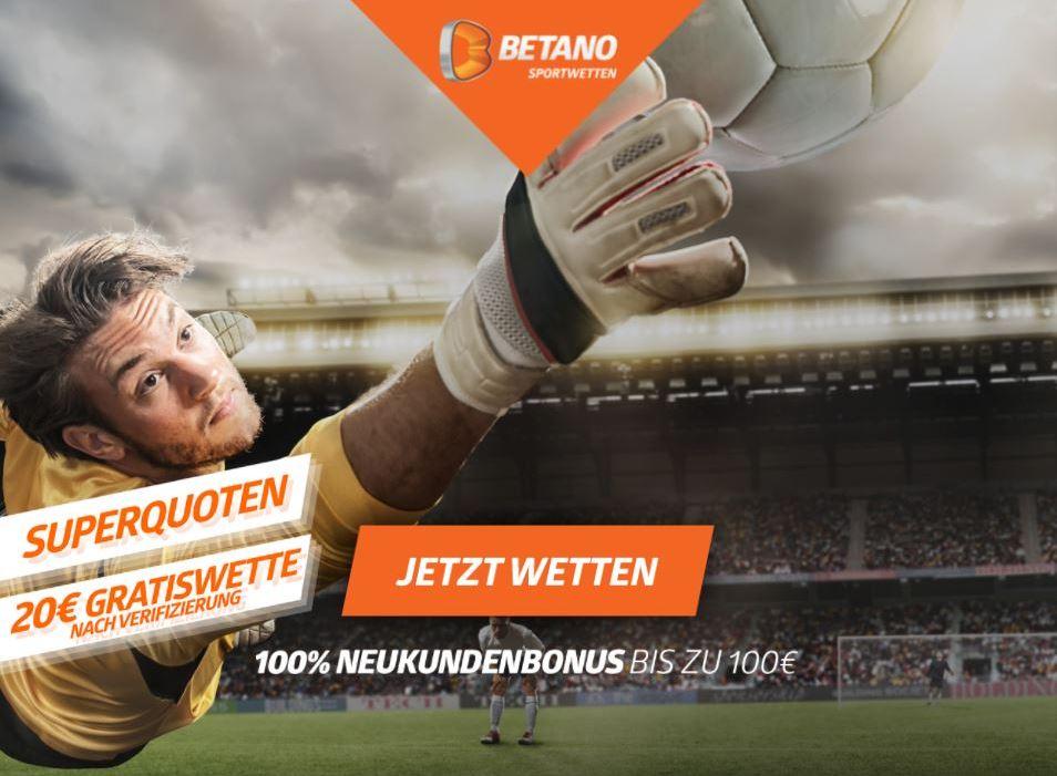 Betano Sportwetten Bonus für die Bundesliga